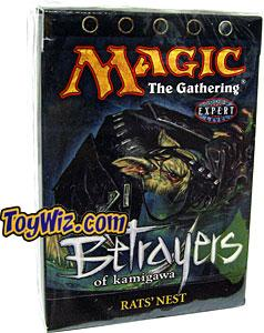 Magic the Gathering Betrayers of Kamigawa Theme Deck Rats Nest