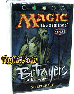Magic the Gathering Betrayers of Kamigawa Theme Deck Spiritcraft
