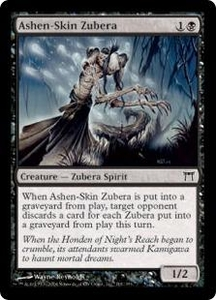 Magic the Gathering Champions of Kamigawa Single Card Common #101 Ashen-Skin Zubera Foil!