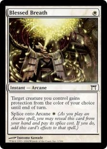 Magic the Gathering Champions of Kamigawa Single Card Common #1 Blessed Breath