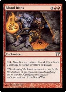 Magic the Gathering Champions of Kamigawa Single Card Uncommon #159 Blood Rites