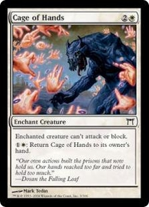 Magic the Gathering Champions of Kamigawa Single Card Common #3 Cage of Hands