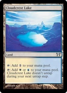 Magic the Gathering Champions of Kamigawa Single Card Uncommon #274 Cloudcrest Lake