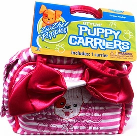 Zhu Zhu Puppies Stylin' Puppy Carrier [Pink Stripes]