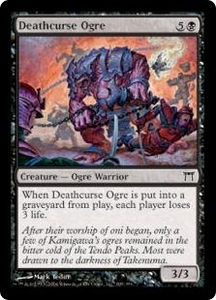 Magic the Gathering Champions of Kamigawa Single Card Common #109 Deathcurse Ogre