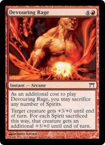 Magic the Gathering Champions of Kamigawa Single Card Common #164 Devouring Rage