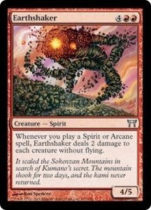 Magic the Gathering Champions of Kamigawa Single Card Uncommon #165 Earthshaker