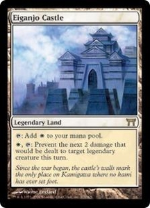Magic the Gathering Champions of Kamigawa Single Card Rare #275 Eiganjo Castle