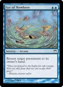 Magic the Gathering Champions of Kamigawa Single Card Common #59 Eye of Nowhere