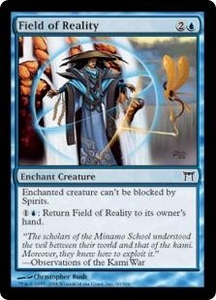 Magic the Gathering Champions of Kamigawa Single Card Common #60 Field of Reality