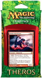 Magic the Gathering Theros Intro Pack Blazing Beasts Of Myth [Red]