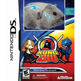 Kung Zhu Nintendo DS Video Game with Exclusive Limited Edition Hamster Tull