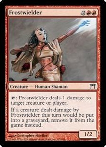 Magic the Gathering Champions of Kamigawa Single Card Common #167 Frostwielder