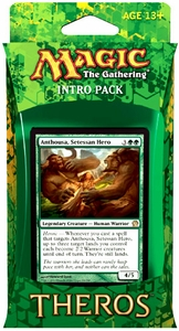 Magic the Gathering Theros Intro Pack Anthousa's Army [Green]