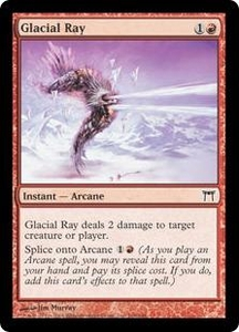 Magic the Gathering Champions of Kamigawa Single Card Common #168 Glacial Ray