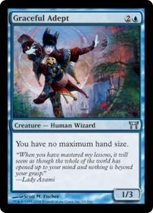 Magic the Gathering Champions of Kamigawa Single Card Uncommon #63 Graceful Adept