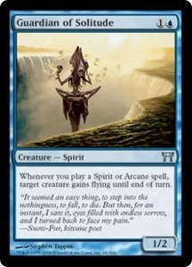Magic the Gathering Champions of Kamigawa Single Card Uncommon #64 Guardian of Solitude