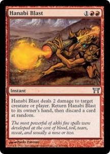 Magic the Gathering Champions of Kamigawa Single Card Uncommon #170 Hanabi Blast