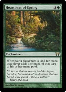 Magic the Gathering Champions of Kamigawa Single Card Rare #212 Heartbeat of Spring