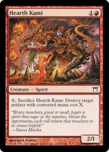 Magic the Gathering Champions of Kamigawa Single Card Common #171 Hearth Kami