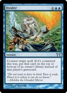 Magic the Gathering Champions of Kamigawa Single Card Uncommon #65 Hinder
