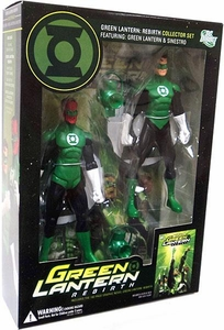 DC Direct Green Lantern: Rebirth Collector Set [Green Lantern & Sinestro Action Figures]