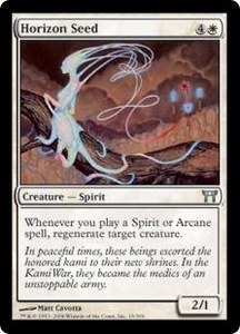 Magic the Gathering Champions of Kamigawa Single Card Uncommon #15 Horizon Seed