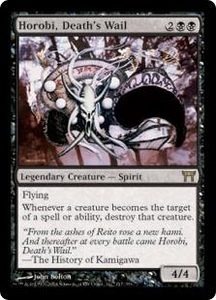 Magic the Gathering Champions of Kamigawa Single Card Rare #117 Horobi, Death's Wail