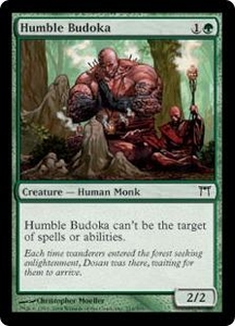 Magic the Gathering Champions of Kamigawa Single Card Common #214 Humble Budoka