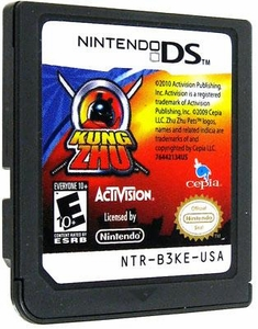 Kung Zhu LOOSE Nintendo DS Video Game [Just Game]