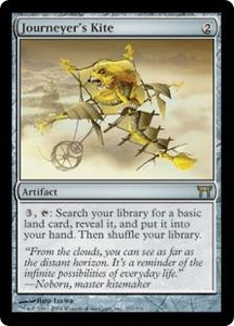 Magic the Gathering Champions of Kamigawa Single Card Rare #257 Journeyer's Kite