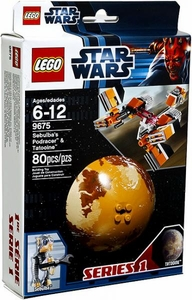 LEGO Star Wars Set #9675 Sebulba's Podracer & Tatooine