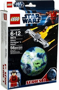 LEGO Star Wars Set #9674 Naboo Starfighter & Naboo