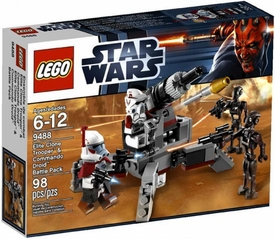 LEGO Star Wars Set #9488 Elite Clone Trooper & Commando Droid Battle Pack