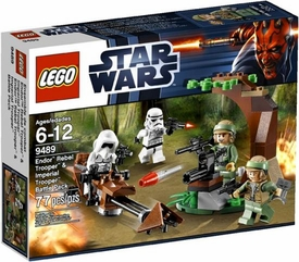 LEGO Star Wars Set #9489 Endor Rebel Trooper & Imperial Trooper Battle Pack