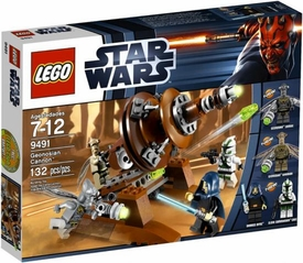 LEGO Star Wars Set #9491 Geonosian Cannon