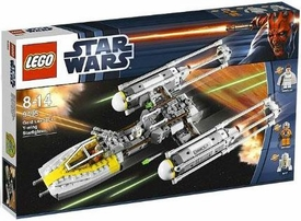 LEGO Star Wars Set #9495 Gold Leaders Y-Wing Starfighter
