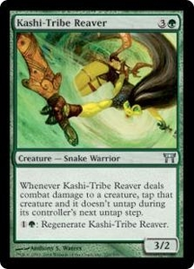 Magic the Gathering Champions of Kamigawa Single Card Uncommon #220 Kashi-Tribe Reaver