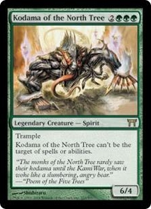 Magic the Gathering Champions of Kamigawa Single Card Rare #222 Kodama of the North Tree