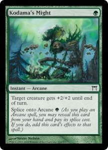 Magic the Gathering Champions of Kamigawa Single Card Common #224 Kodama's Might