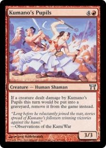 Magic the Gathering Champions of Kamigawa Single Card Uncommon #177 Kumano's Pupils