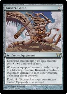 Magic the Gathering Champions of Kamigawa Single Card Rare #260 Kusari-Gama