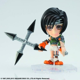 Final Fantasy Trading Arts Kai Mini Figure Yuffie Pre-Order ships July