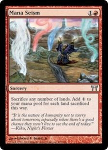 Magic the Gathering Champions of Kamigawa Single Card Uncommon #179 Mana Seism