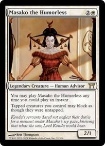 Magic the Gathering Champions of Kamigawa Single Card Rare #33 Masako the Humorless