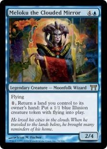 Magic the Gathering Champions of Kamigawa Single Card Rare #74 Meloku the Clouded Mirror