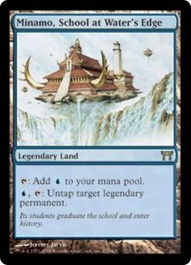 Magic the Gathering Champions of Kamigawa Single Card Rare #279 Minamo, School at Water's Edge Great for Commander!