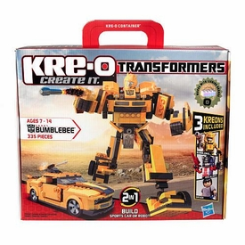 Kre-O Transformers DELUXE Bumblebee [335 Pieces] BLOWOUT SALE!