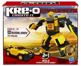 Kre-O Transformers BASIC Bumblebee [75 Pieces]