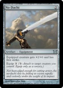 Magic the Gathering Champions of Kamigawa Single Card Uncommon #264 No-Dachi